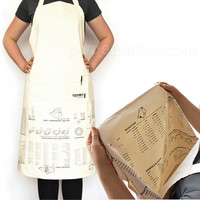 UPSIDE DOWN APRON COOKING GUIDE