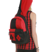 DC Comics Harley Quinn Suit-Up Backpack