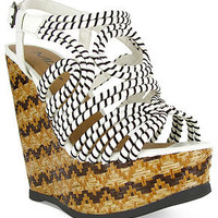 Mia Shoes, Evelynn Platform Wedge Sandals - Espadrilles & Wedges - Shoes - Macy's