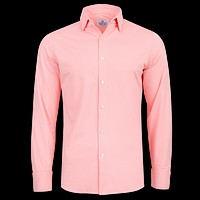 """The """"Captiva"""" Button Down in Bright Coral Gingham by Mizzen + Main"""