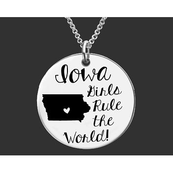 Iowa Girls Necklace | Iowa State
