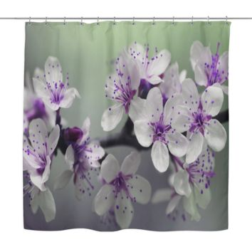 Blossom Petals Shower Curtain
