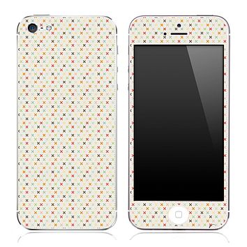 Stars over Tan Pattern Skin for the iPhone 3, 4/4s or 5