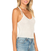 TROIS Banks Tank in Bone | REVOLVE