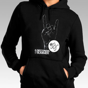 5 second of summer hoodie 5Sos hoodie Hand Love