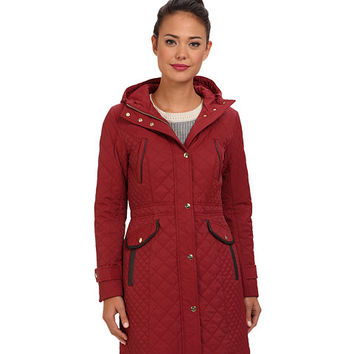 Cole Haan Essential Quilt Hooded Parka