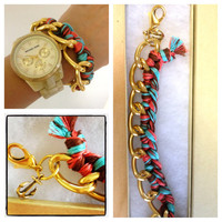 Woven Chain Bracelet Buy a bracelet help a family by p4pministry
