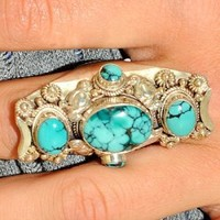Fancy Five Stone Ring - ACCESSORIES - Shop Online