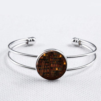 Library  Bangle-So many Books So Little Time, Reading, Sisters Bangle, Gifts for Daugther,elder Sister Gifts, Birthday Gifts