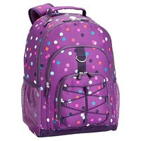 Gear-Up Light Purple Confetti Multi Dot Backpack