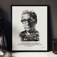 Film Director Portrait Prints