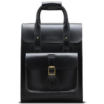 DR MARTENS SMALL LEATHER BACKPACK