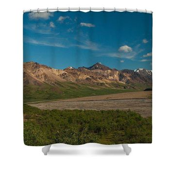 Sundae Mountains - Shower Curtain
