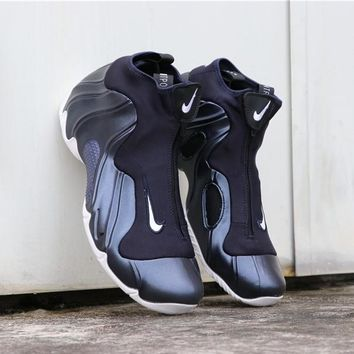 "Nike Air Flightposite Solo Slide ""Navy White"" - Best Deal Online"