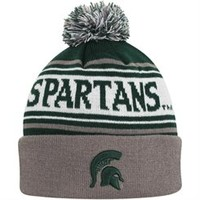 Top of the World Michigan State Spartans Women's Gray Chevron Knit Hat