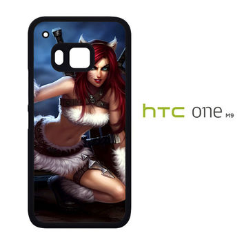 League Of Legends Kitty Kat Katarina Z0611 HTC One M9 Case