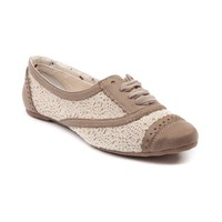 Womens Not Rated Borderline Flats, Cream, at Journeys Shoes