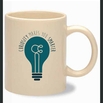 Curiosity Makes You Smarter Mug