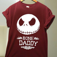 bone daddy jack for T Shirt unisex adult