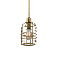 Septa 1 Light Cage Mini Pendant