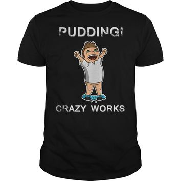 Dean Winchester: Pudding Crazy Works shirt Premium Fitted Guys Tee