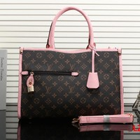 Tagre™ LV Louis Vuitton Women Shopping Bag Leather Shoulder Bag Satchel Crossbody