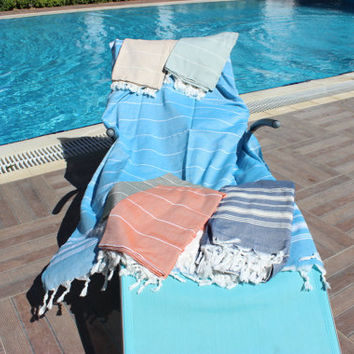 Bath and Beauty, Peshtemal Turkey Turkish Linen Beach Towels, 100% Cotton Soft Towels, Hamam, Pestemal Yoga, Spa, Shawl Pareo, Sarong Towels