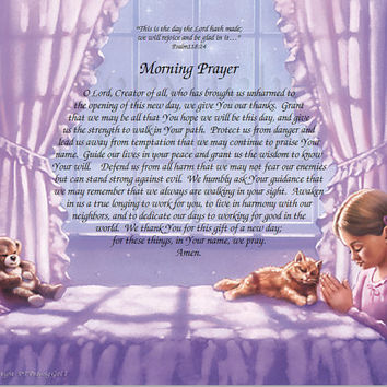 NEW!! Morning Prayer-Praying Boy 1,2,Praying Girl 1,2, Jesus