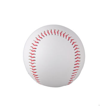 "hot selling 1 Piece 9"" New White Base Ball Baseball Practice Trainning PVC Softball/Hardball hand sewing Sport Team Game"