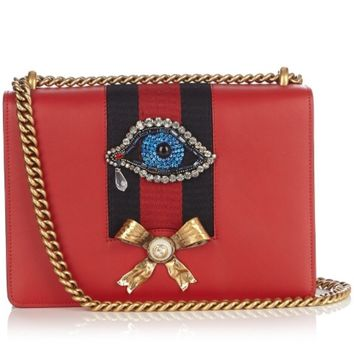 Gucci Peony Eye Shoulder Bag