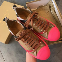 Burberry Neon Vintage Lattice shoes
