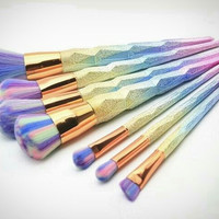 7Pcs Unicorn Makeup Brush Sets