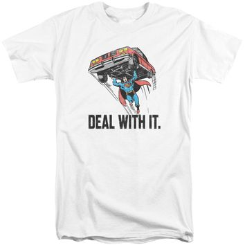 Dco - Deal With It Short Sleeve Adult Tall Shirt Officially Licensed T-Shirt