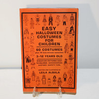 Easy Halloween Costumes For Children By Leila Albala, Patterns Accessories Design Book, DIY