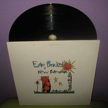 Vinyl Record Album Edie Brickell and New Bohemians - Shooting Rubber Bands.. LP 1988 Folk Rock Songbird