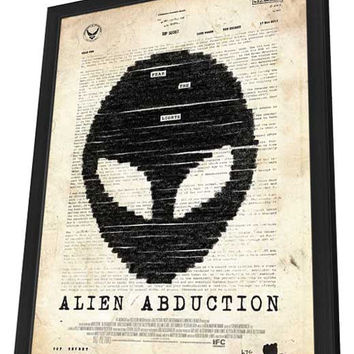 Alien Abduction 11x17 Framed Movie Poster (2014)