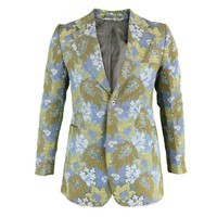 Incredible 1960s Maggy Rouff Men's Tapestry Brocade Blazer