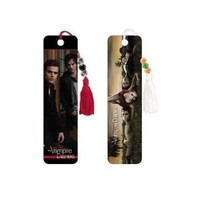 (2x6) Lot of 2 The Vampire Diaries Beaded Bookmarks Group and Brothers Set