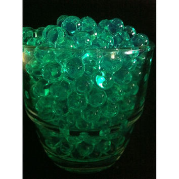 Water Beads Pearls Jelly Balls Vase Fillers, Large, Green