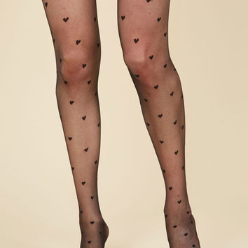Hearty Helping Tights | Mod Retro Vintage Tights | ModCloth.com