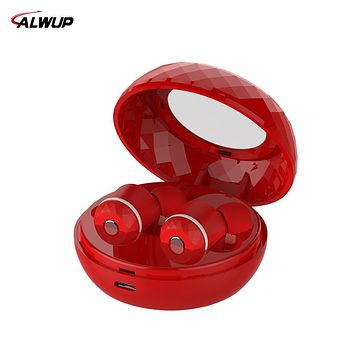 ALWUP Wireless Earphone Bluetooth headset In-ear Stereo Headphones