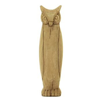 Wooden Wise Owl