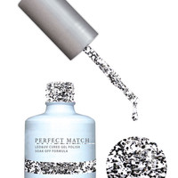 LeChat Perfect Match Gel / Lacquer Combo - Black Tie Affair 0.5 oz - #PMS138