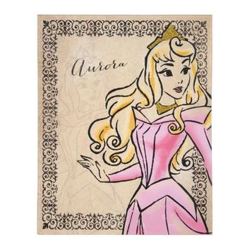 Fashionista Aurora Canvas Art Print