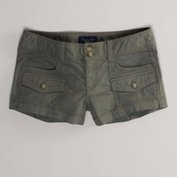 AEO Women's Military Shortie (Olive)