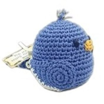 Blueberry Bill Organic Cotton Small Dog Toy