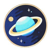 Galaxy Planet Large Back Patch