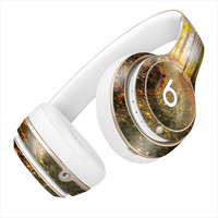Autumn Trees Sunlight Burst on Forest Trail Skin for the Beats By Dre Headphones