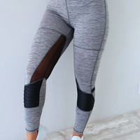 Training Day Pants: Grey/Black