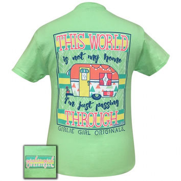 Girlie Girl Originals Preppy Hebrews 13:14 Camper T-Shirt